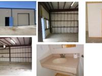 small warehouse for rent has a restroom lots of space