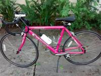 Pearlescent Pink Willow Windsor aluminum road bike -