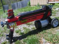 Small 5 Ton log Splitter Used 2x Purchased New From
