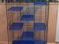 I have a Deluxe Super Pet multi-floor ferret cage that