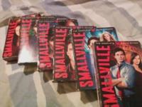 selling dvd's of the full season of Smallville the dvds