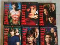 Complete seasons 1-6 of Smallville. DVD's are in great