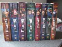 Selling the first 8 seasons of Smallville. Great show