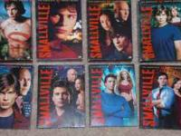 The CW's hit tv series Smallville the complete seasons
