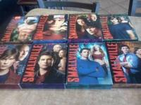 SMALLVILLE, 8 BOXED SETS, SEASONS 1-8. ALL DVDs LIKE