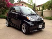Smart Brabus Cabrio 2009 The most fun car to drive with