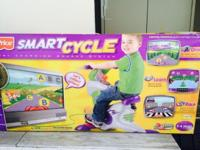 Smart cycle ages 3-6, great for leaning and a toy.