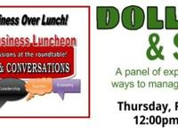 Topic of Discussion: Dollars & Sense - A panel of