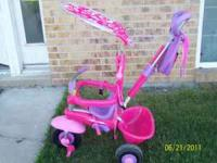 This trike worked really well when I took our daughter
