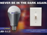 SmartCharge is the world's first LED light bulb which