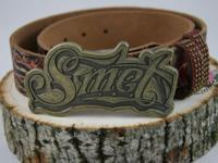 SMET Belt SM 3012 Ladies/Junior Handmade Leather Belt