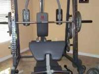 Smith Machine Marcy Brand Like New without weights
