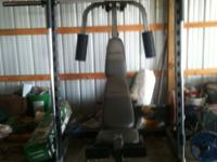 For Sale is a Proform C840 Smith machine. In perfect