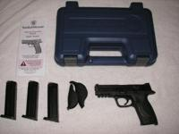 Fresh Smith & & Wesson M&P 9mm. Less than 500 round