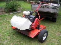 Smithco Mow-n-go Trailer: Used to haul Professional