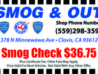 WE SMOG, INSPECT & REPAIR ALL.  BRAKE & LAMP