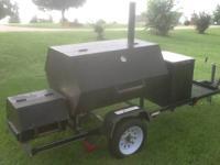 Brand New Factory Built Trailer mounted Smoker/BBQ
