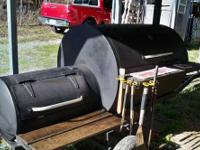 We have for sale a very large Cooker/Smoker on a 12 Ft.