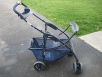 Snap n go stroller, fits most infant carriers.