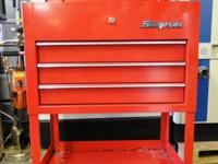 Snap On 3 Drawer Roll Tool Cart Box KRSC33APBO Heavy