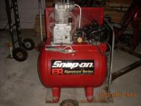 40 gallon single phase custom built by big red air