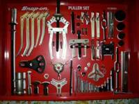 snap-on cj2000 puller set glass front locking doors
