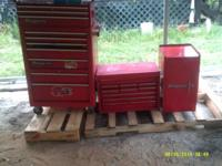 I have several snap on tool boxes in good