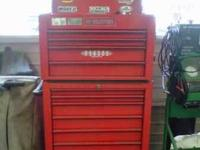 Snap On Tool Boxes in Excellent condition. Top box is a
