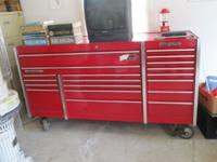 Snap-On, MAC and Matco Toolboxes Automotive Tools and
