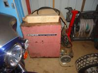 Snap on Welder YA 212 A Industrial Mig Welder, PRI