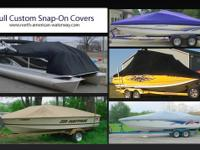 Introducing Custom Snap-on Boat Covers. After-market