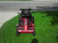 The mower does run and works great the tires go flat
