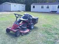 "Snapper 42"" cut 16hp Vanguard engine Runs good and mows"