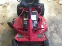 I have for sale an '08 Snapper riding mower. It's been
