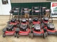 This sale is for 8 snapper mowers. We have 4 brand new