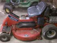 14 HP snapper 33 inch cut electric start. Runs and cuts