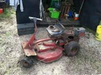 Snapper mower without motor. $50 obo call hunter