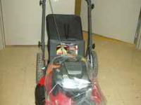 "Snapper 22"" front wheel drive lawn mower. Regular"