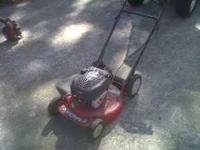 I have a nice self-propelled push mower by snapper for