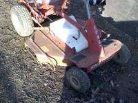 Selling one fully serviced riding mower. It is ready