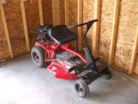 Snapper brand riding lawn mower. Runs good. $250 cash