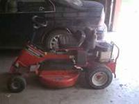 I have a riding snapper lawn mower for sale. It is a