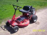 For Sale - Snapper Riding Lawnmower, 11 H.P. Briggs &