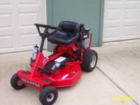 "Snapper Riding Mower 30"" 12.5 hp, electric start, in"