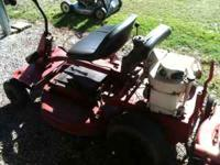 Snapper Ridig Mower w/ 8Hp Hand Crank Good Shape W/ 30""
