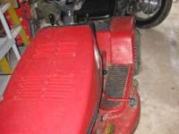 Snapper riding mower for sale. No longer needed due to