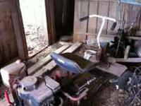 Older Snapper Mower for parts or scrap. Does come with