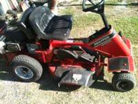 Snapper Riding Mower SR825 W/ 20 Hp Briggs Intek Plus
