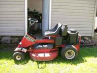 I HAVE A SL130 SNAPPER RIDEING LAWN MOWER FOR SALE