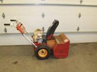 524 ELECTRIC START, CHAINS, SERVICED READY TO GO, CAN